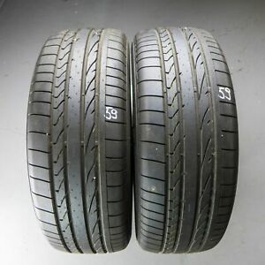 2x-Bridgestone-Dueler-H-P-SPORT-255-55-r19-111-H-DOT-3417-8-5-mm-pneus-d-039-ete