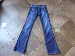 low priced 6d11c 8b012 Details about Fornarina Jeans, 'Bono Bis', Wmn's Sz 26, W26L34.5, Slight  Bootcut,Long Inseam