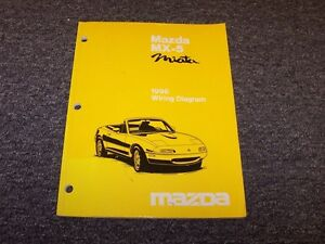 1996 Mazda MX5 Miata Convertible Original Electrical ...