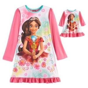 284ad6613225 NWT Disney Elena of Avalor Girl Nightgown 18