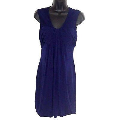 Yigal Azrouel Womens Lace Midi Dress Purple 2