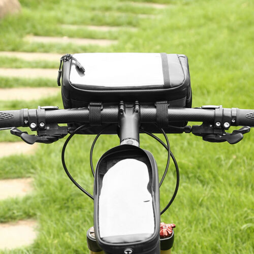 3L Bike Frame Bag Waterproof Bicycle Front Handlebar Pouch Cycling Pannier M8V2