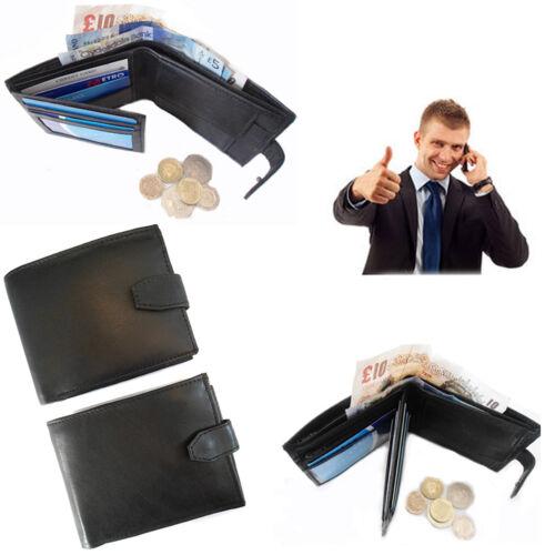 Mens Wallet Leather Purse Credit Card ID Holder Bifold Slim Money Purse Pocket