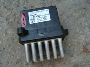 Blower Resistor Pack Ford Fiesta