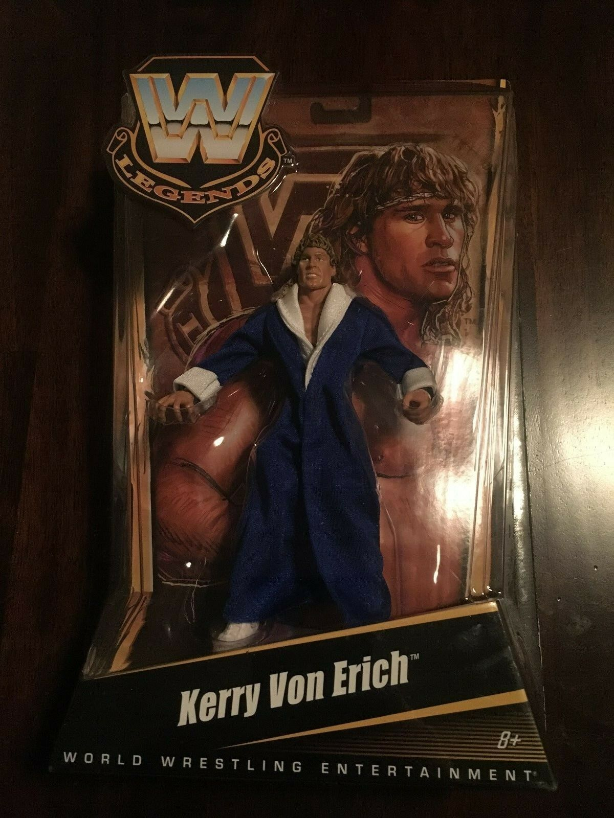 WWE Mattel Kerry Von Erich Elite Series 6 Action Figure