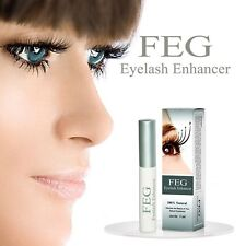 FEG Eyelash Enhancer Eye Lash Rapid Growth Serum Liquid 100% Natural 3ML New
