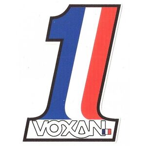 VOXAN-Number-One-Sticker-vinyle-lamine