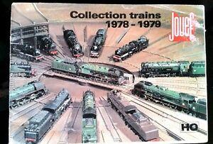 """b)Catalogue Jouef 1978-1979; Collection trains """"HO"""" sur 68 pages uXqY8f8E-08042729-215077827"""