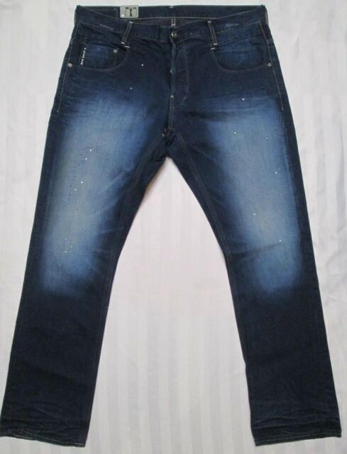31a8d866231 G-STAR RAW Mens NEW RADAR SLIM Mid Age Denim Jean Pant 50740-4644 ...