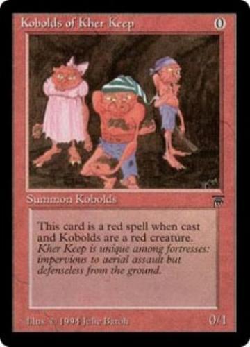 MtG Legends Kobolds of Kher Keep