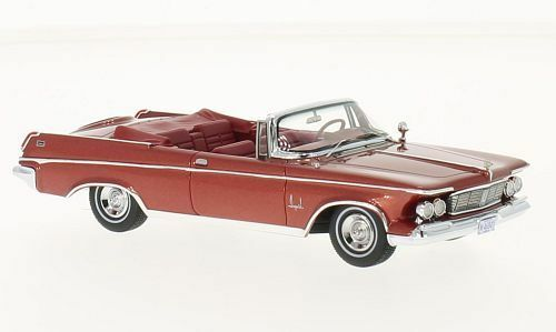 Imperial crown cabrio  rot metallic  1963   (neo - skala 1 43   46845)