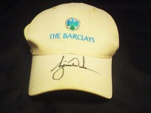 f2cfd2a7 Image is loading Tiger-Woods-Autograph-Signed-The-Barclays-Imperial-Golf-