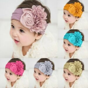 Baby-Headbands-Chiffon-Flower-Soft-Lace-Hair-Band-Hairbands-Hair-Accessories