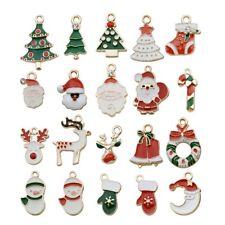 20//40pcs Christmas Holiday Cat Dog Hair Bows Grooming Santa Claus/&Snowman Adorn