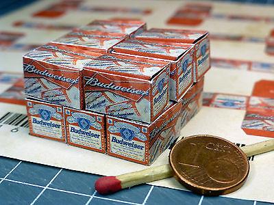 """12 Cartoni """"beer"""" In 1:24-1:25 Per Diorama, Slot Ferrovie, Scaricare, Officina-mostra Il Titolo Originale"""