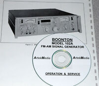 Boonton 102a Instruction Manual (ops & Service)