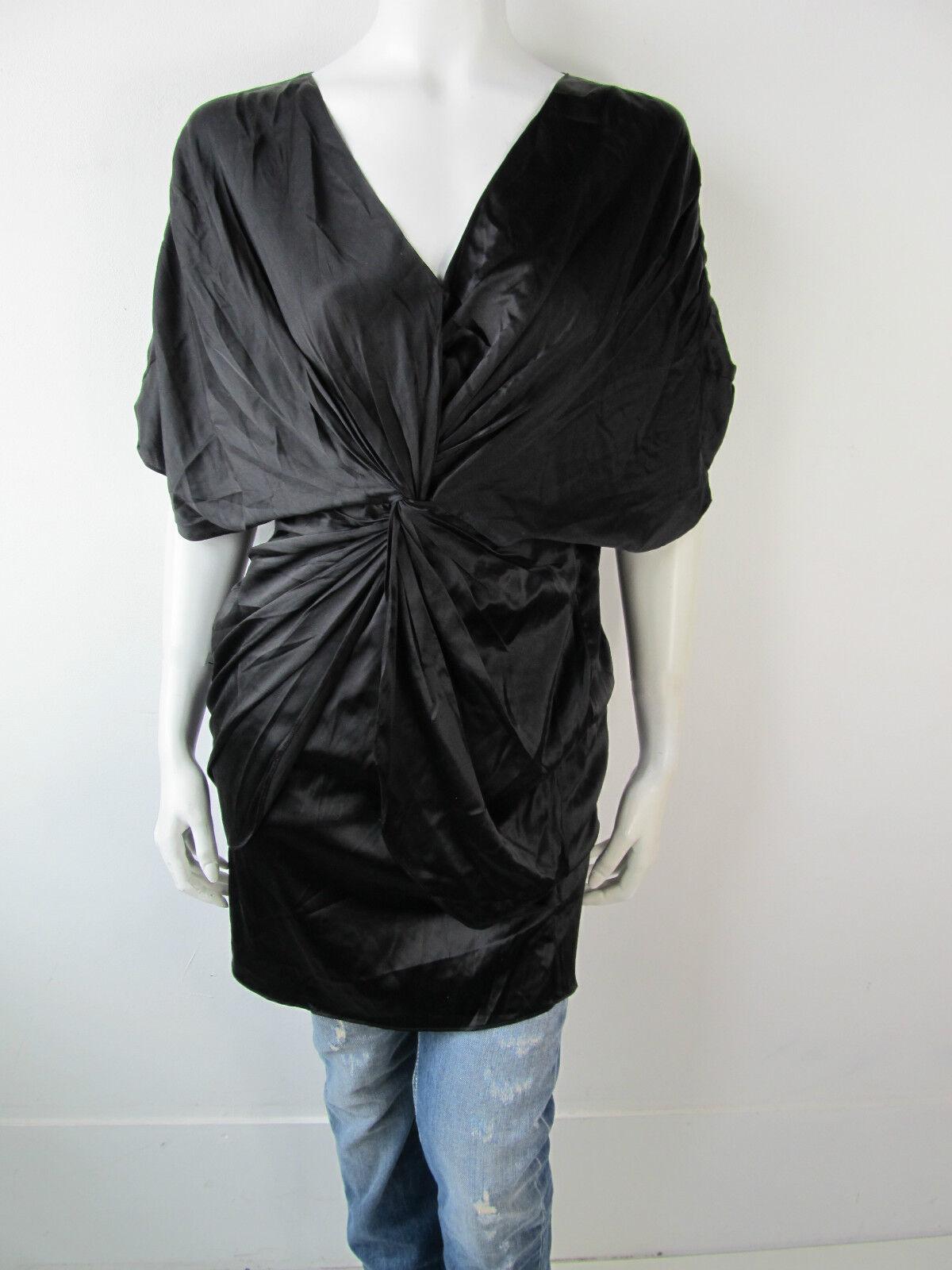 SuperTrash Kleed Kleid Dress Jurk Dwarfer schwarz Neu S
