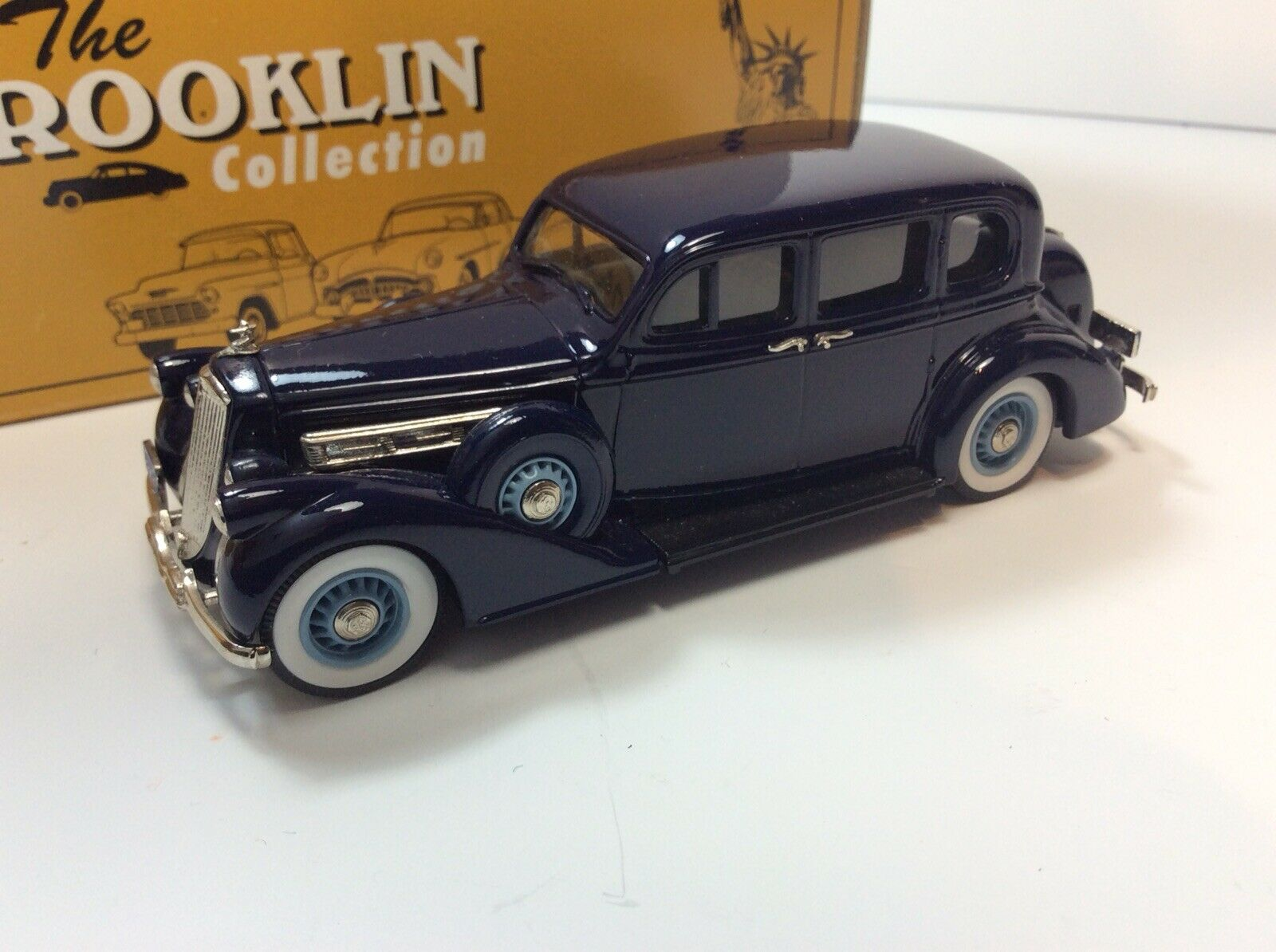 Brooklin modelos BRK Pierce Arrow Sedan 1601 81 1936