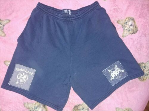 Vintage 90's Heavy Metal Sweat Shorts - Med -Slaye