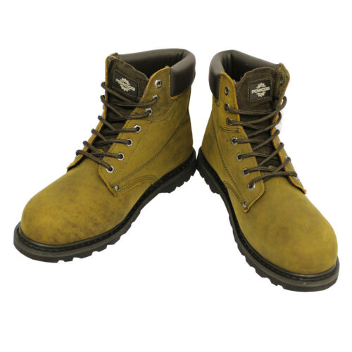 EU 36-49 MENS GOODYEAR WELTED Safety Steel Toe Cap Work Hiking BootsUK 4-14