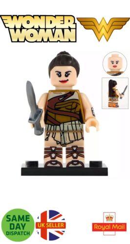 Wonder Woman Mini figura 1984 DIANA formazione JUSTICE LEAGUE DC MARVEL UK Venditore