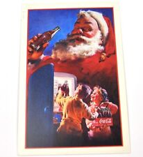 Coca-Cola Coca Cola USA Cartolina Cartolina natale Cartoline natale Santa 1950
