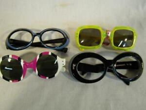 4-PAIRS-VINTAGE-WOMENS-ASSORTED-SUNGLASSES-NILSOL-PARKER-USA-SUNMODES