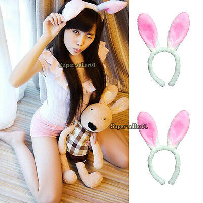 Cute Hallowmas Oster Christmas Band Costumes Bunny Rabbit Hase Ohren Stirnband