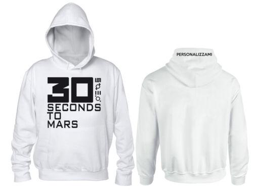 Felpa Personalizzata 30 Second to Mars