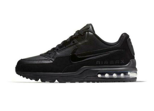 Nike Air Max LTD 3 Triple Black 687977-020 Running Shoes Men's NEW