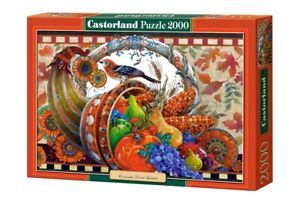 "Castorland Puzzle 2000 Pieces Cornucopia 92x68cm/ 36"" x 27"" Sealed box C-200467"