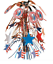 Boy-Scout-Official-Eagle-Scout-Court-of-Honor-Centerpiece-Red-White-Blue-New thumbnail 1