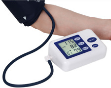 Digital LCD Arm Blood Pressure Pulse Upper Automatic Monitor Heart Beat Meter FD