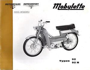 Catalogue-pieces-detachees-MOTOBECANE-MOTOCONFORT-SP-92-92N-N-SPECIALE