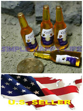 ❶❶1/6 4 x bottles of Beer Corona for Hot toys Kumik Phicen stage property USA❶❶