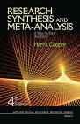 Research Synthesis and Meta-Analysis: A Step-by-Step Approach by Harris M. Cooper (Paperback, 2009)
