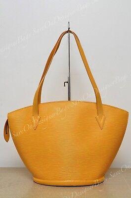 Louis Vuitton Saint Jacques GM Tassil Yellow Used Authentic