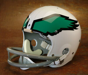 9b884687423 Image is loading Philadelphia-Eagles-style-NFL-Vintage-Football-Helmet- HAROLD-