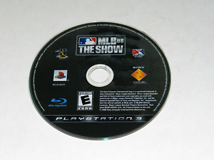 MLB 08 The Show Playstation 3 PS3 Video Game Disc Only