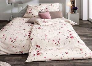 Estella Bettwäsche Emma Interlock Jersey 135 X 200 Cm Blumen Pink