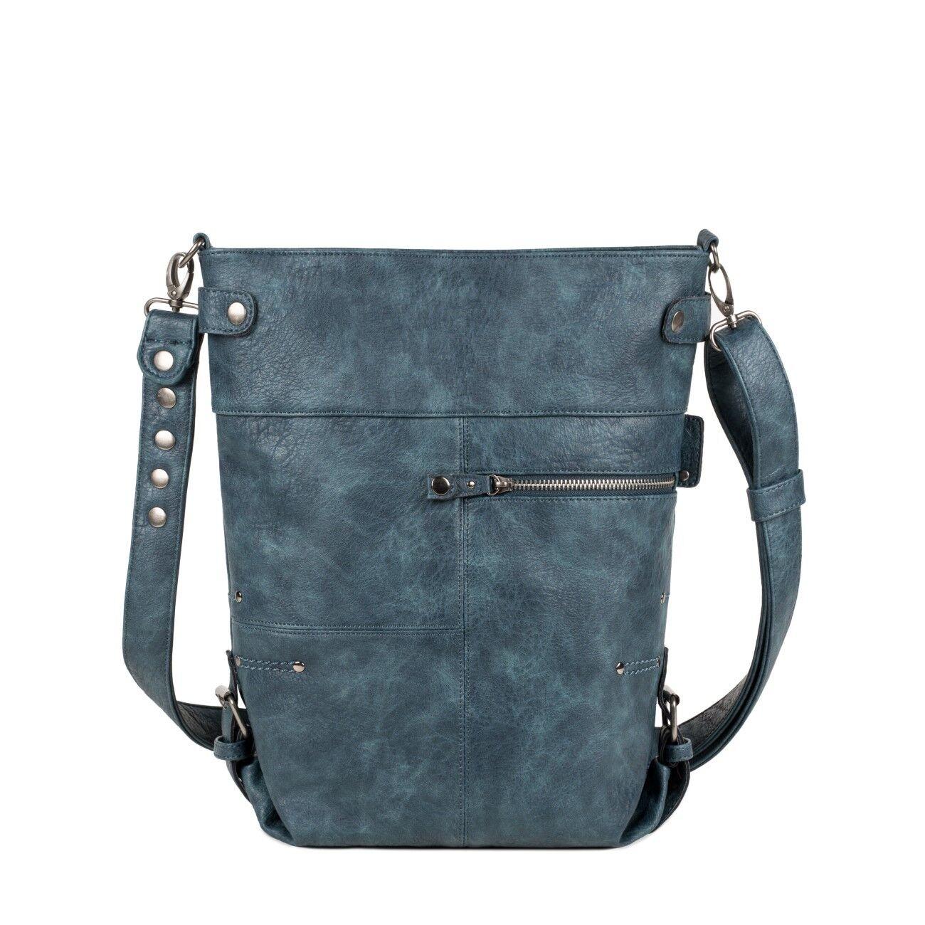 ZWEI ZWEI ZWEI Vintage V12 Tasche Blau blau Neu Schultertasche   Attraktives Aussehen  811471