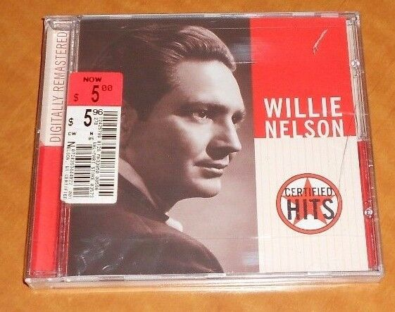 Willie Nelson Certified Hits 2001, New!
