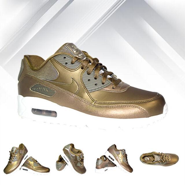 Nike Sportswear Air Max 90 Metallic Gold Croc | Shoes
