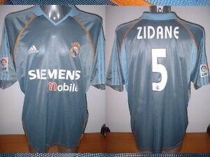 33dbebaab04 Real Madrid ZIDANE Adidas Adult L France Shirt Jersey Football ...