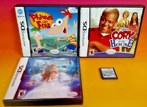 Disney-Sonny-Chance-Cory-House-Enchanted-Phineas-Nintendo-DS-Lite-3ds-2DS