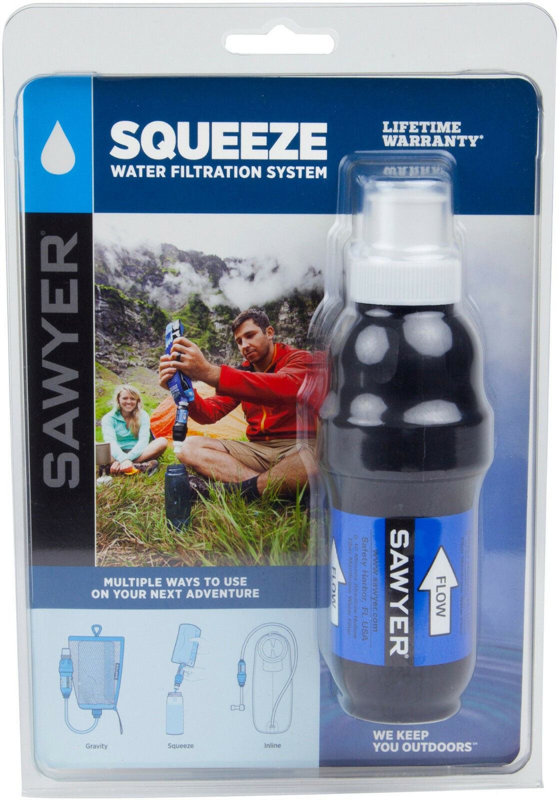 Sawyer SP131 Squeeze Wasserbilter Bundle Model 2017 Sawyer SP110 Inkl.