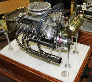 Little Demon Model Gas Engine V8 Plans Only You Are Not Buying An