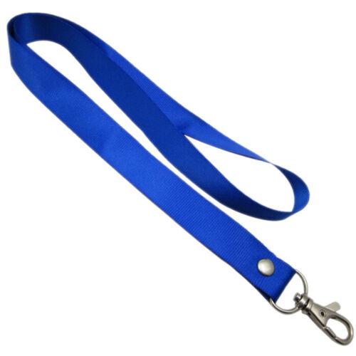 Hot Neck Strap Lanyard Safety Breakaway For ID Name Badge Holder Keys MetalB re