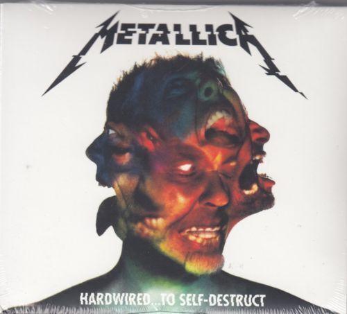 Metallica * Hardwired...To Self Destruct [Digipak] (CD, Nov-2016, 2 Discs) NEW