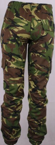 Branded Camouflage Camo Jogging Bottom Men Army Military Hunting Shoot Trousers